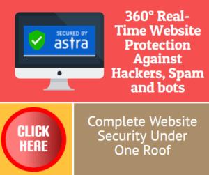 Astra WordPress Security
