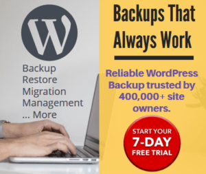 BlogVault WordPress Backup services